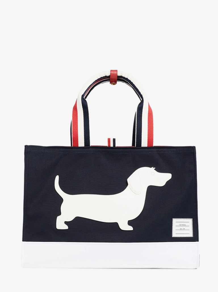 TOTE BAG MEN-BAGS TOTE BAG THOM BROWNE SMETS