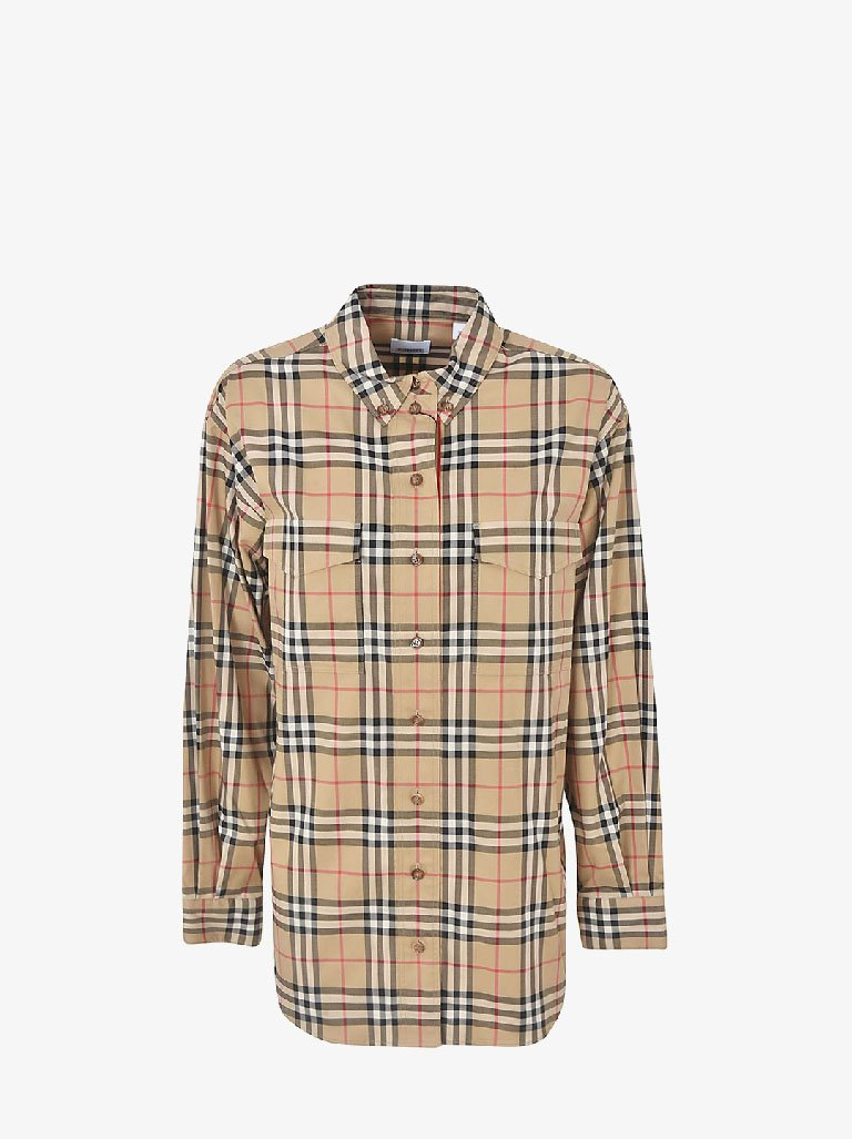 TURNSTONE SHIRT WOMEN-CLOTHING SHIRT BURBERRY SMETS