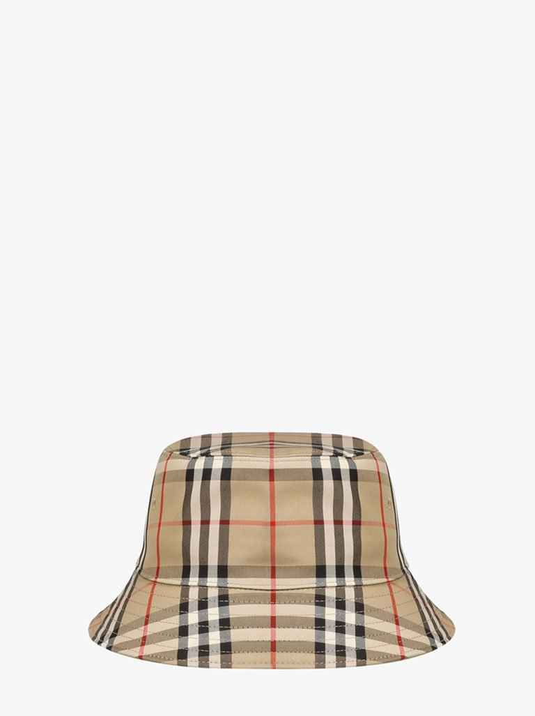 VINTAGE CHECK 2 PANEL BUCKET HAT WOMEN-ACCESSORIES HAT BURBERRY SMETS