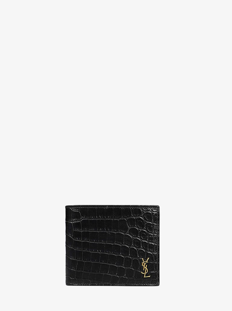 YSL TINY BASIC WALLET MEN-ACCESSORIES WALLET SAINT LAURENT SMETS