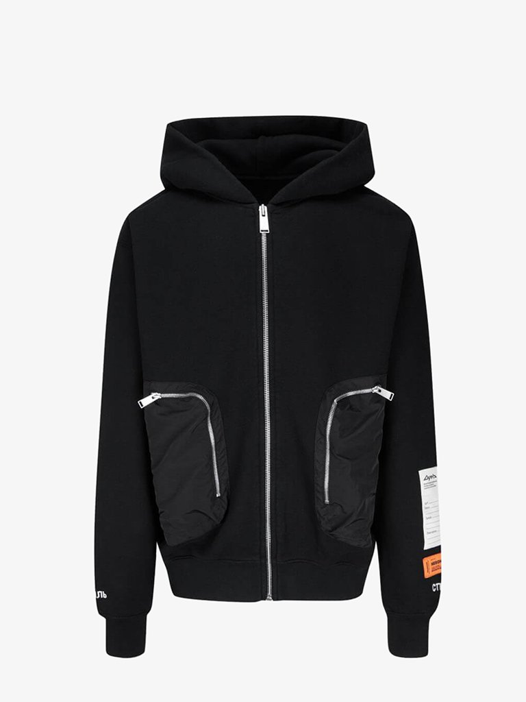 ZIP UP HOODIE MEN-CLOTHING HOODIE HERON PRESTON SMETS