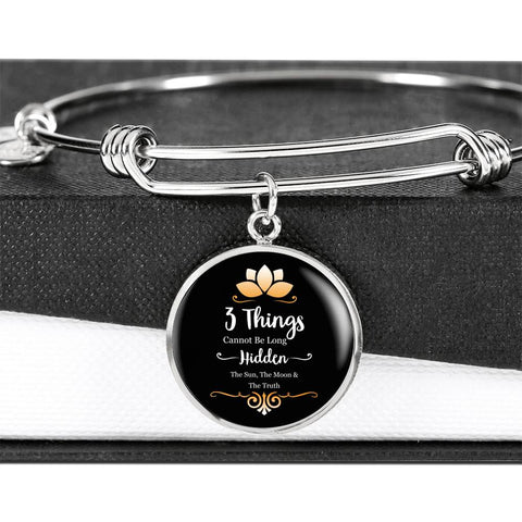 Image of The Sun, The Moon & The Truth Luxury Bangle