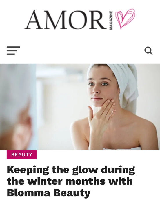 Winter Skincare | Amor Magazine