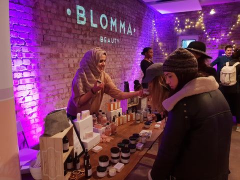 Blomma beauty events