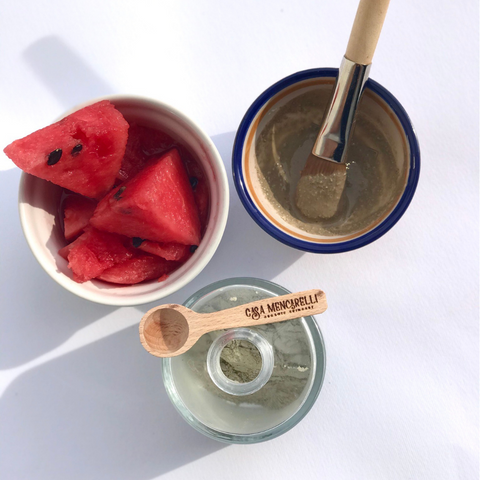 homemade watermelon face mask recipe
