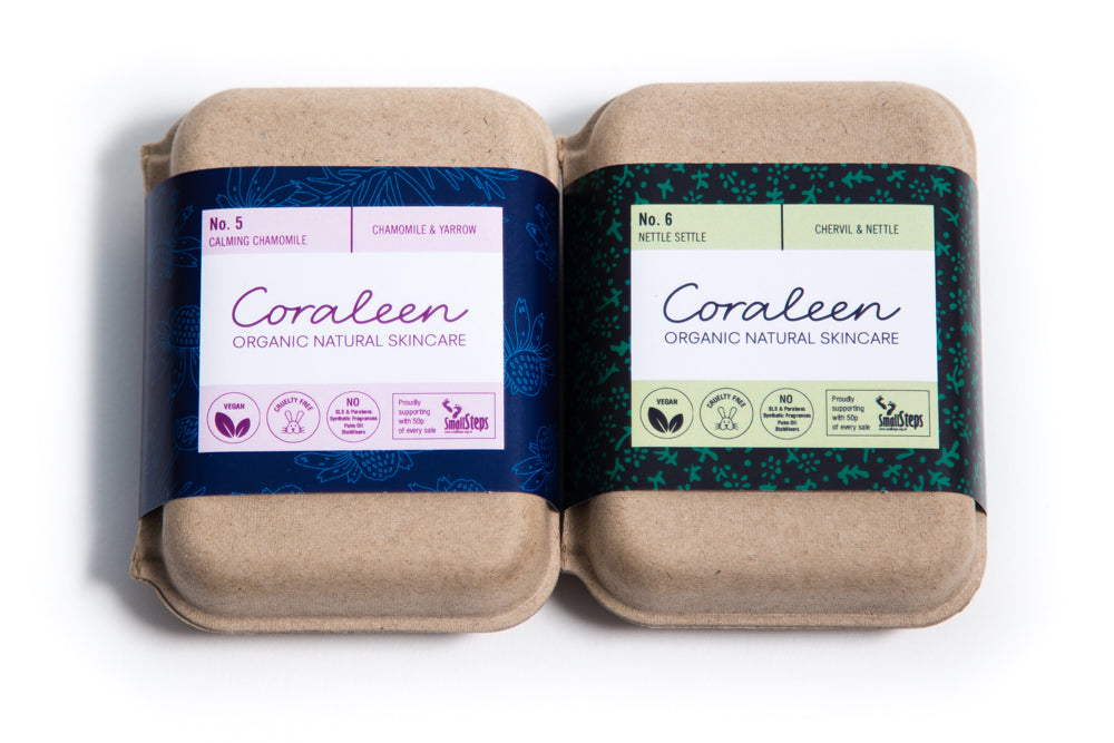 As Nature Intended Organic Soap Twin Box - Coraleen