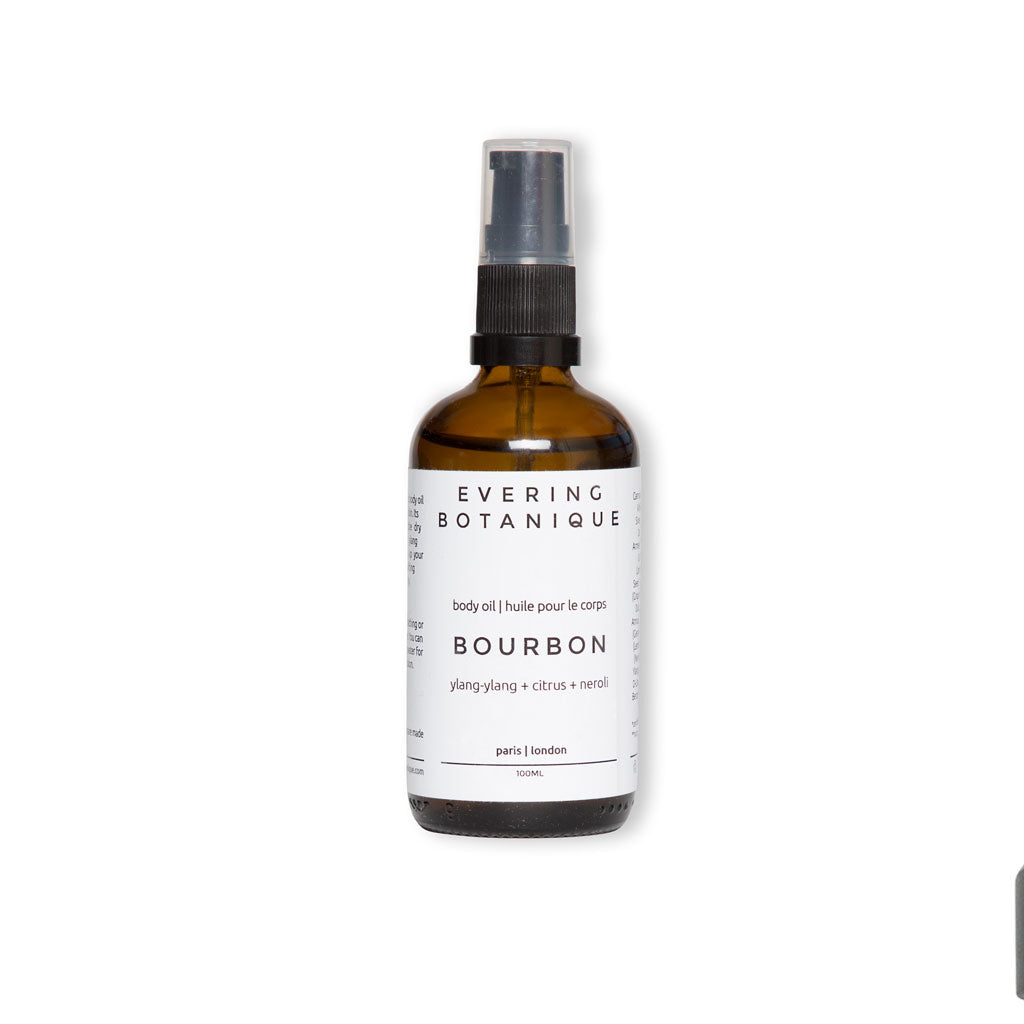 Evering Botanique Bourbon Body Oil 100ml