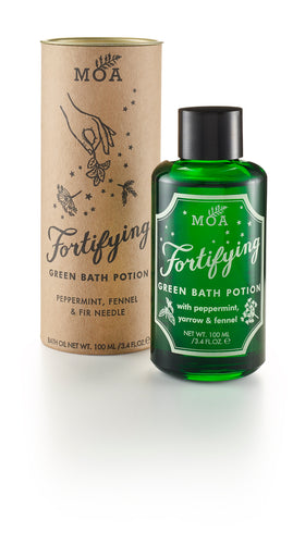 Fortifying Green Bath Potion - Magic Organic Apothecary - Blomma Beauty