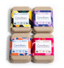 Load image into Gallery viewer, The Essential Mix Organic Soap 4 Pack - Coraleen