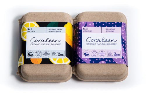 Herbal Heaven Organic Soap Twin Box - Coraleen