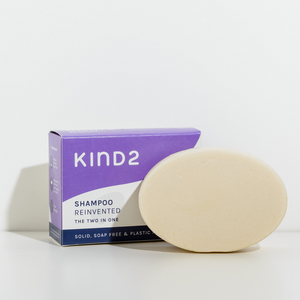 The Two-In-One Solid Conditioning Shampoo Bar