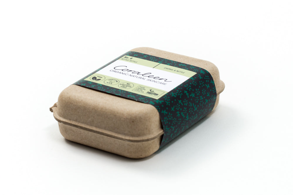 Organic Nettle And Chervil Soap Bar
