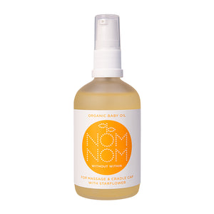 Nom Nom Organic Baby Oil with Starflower - Blomma Beauty