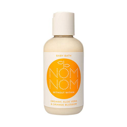 Nom Nom Organic Aloe Vera and Orange Baby Bath - Blomma Beauty