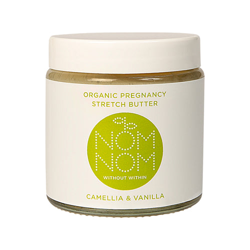 Nom Nom Organic Pregnancy Stretch Butter Camellia and Vanilla - Blomma Beauty