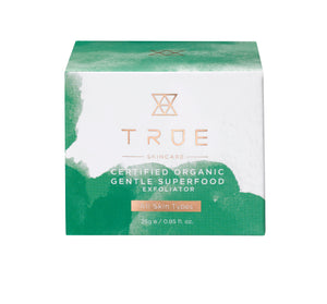 True Skincare Certified Organic Gentle Superfood Exfoliator - Blomma Beauty