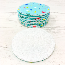 Load image into Gallery viewer, Set of 10 Reusable Cotton Pads
