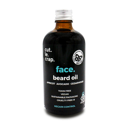 Cut.Le.Crap Apricot Beard Oil 100ml