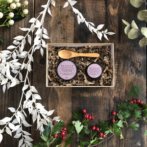 meadow skincare cleanse and glow gift set
