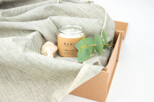 Natural Candle Stocking Filler