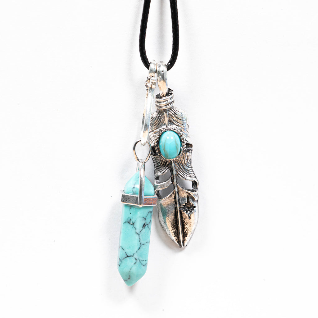 Peace of mind turquoise