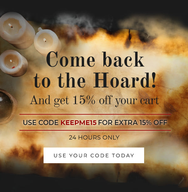 Use Code KEEPME15 for extra 15% Off