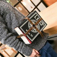 Spell Book Canvas Cross-body Bag