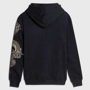 Embroidered Celestial Dragon Hoodie