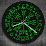 Vegvisir LED Wall Clock