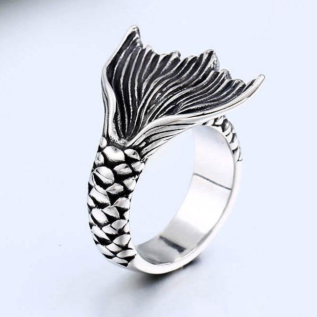 Mermaid's Tail Ring - Wyvern's Hoard