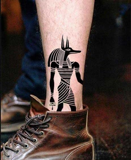 Anubis Temporary Tattoos  (Pack of 5) - Wyvern's Hoard
