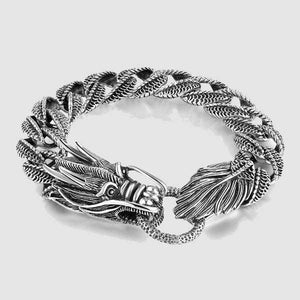 Sea Dragon Sterling Silver Bracelet