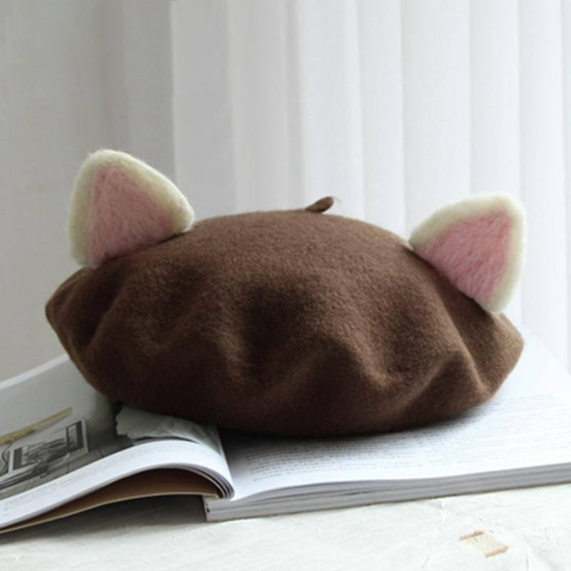 Cat Ears Beret - Wyvern's Hoard