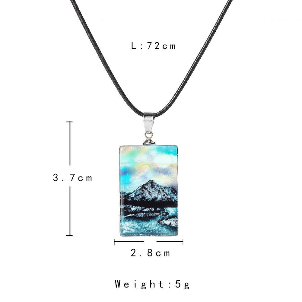 Northern Lights Necklace - Wyvern's Hoard