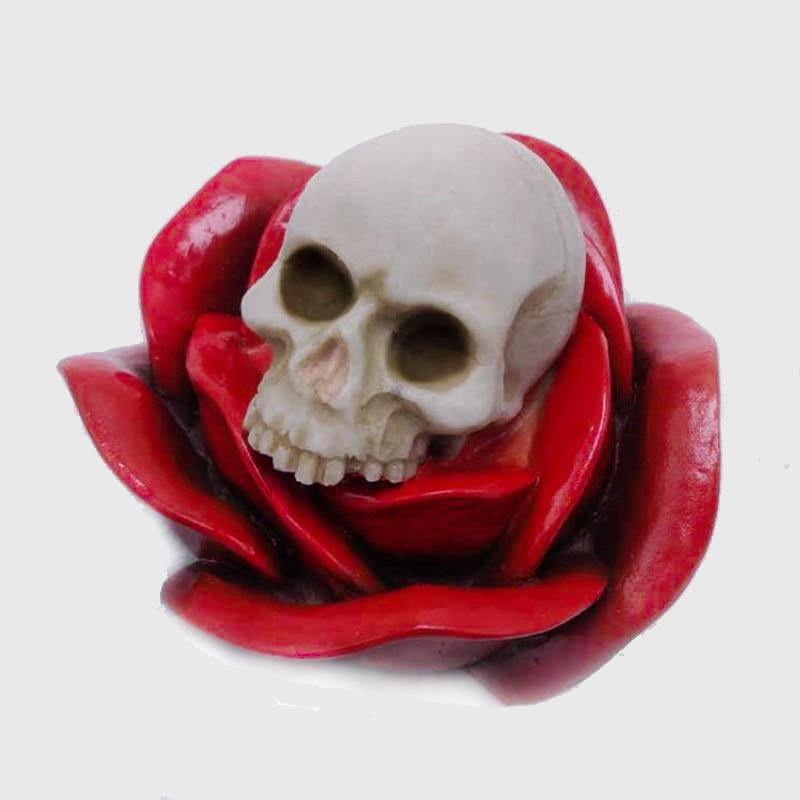 Rose Skull Silicone Baking Mold