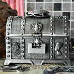 Egyptian Scarab Treasure Chest Jewelry Box - Wyvern's Hoard