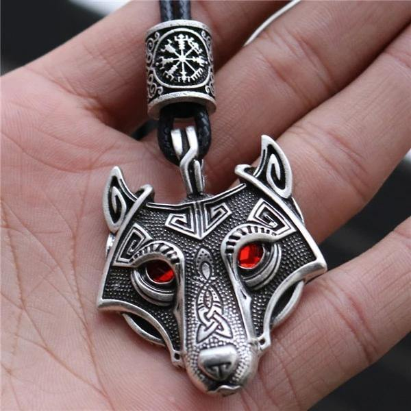 Viking Wolf Necklaces - Wyvern's Hoard