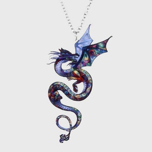 Chromatic Dragon Necklace