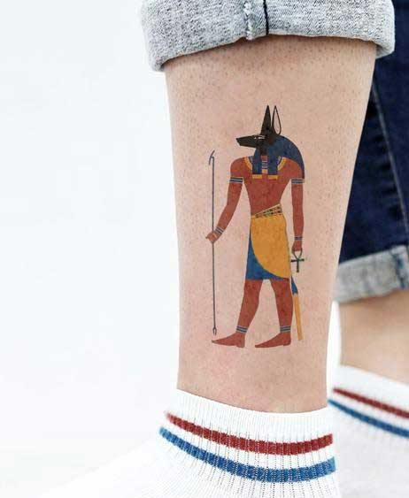 Anubis Temporary Tattoos  (Pack of 5)