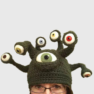 Eyes Of The Beholder Beanie