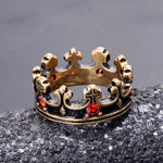 The Crusader King's Crown Ring