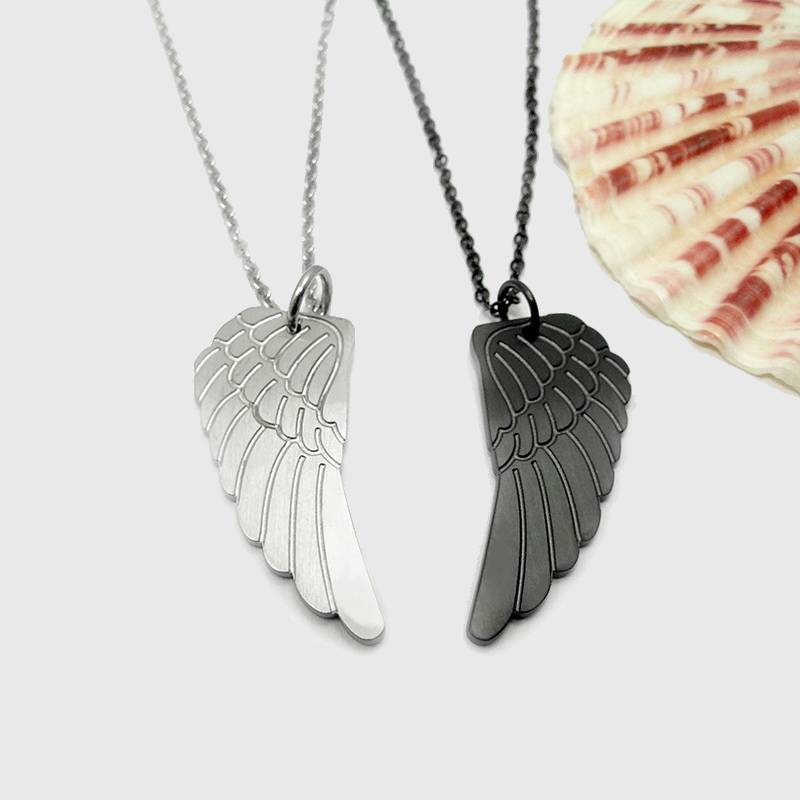 Divine Wings Couple Necklaces
