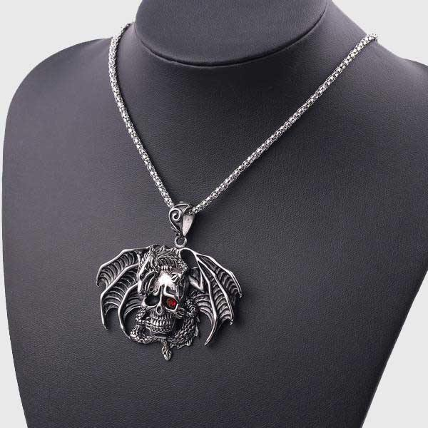 Níðhöggr Dragon Necklace