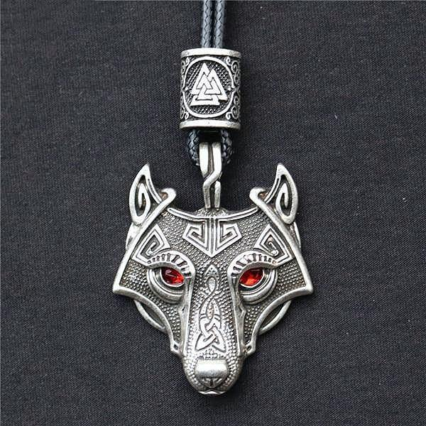 Viking Wolf Necklaces