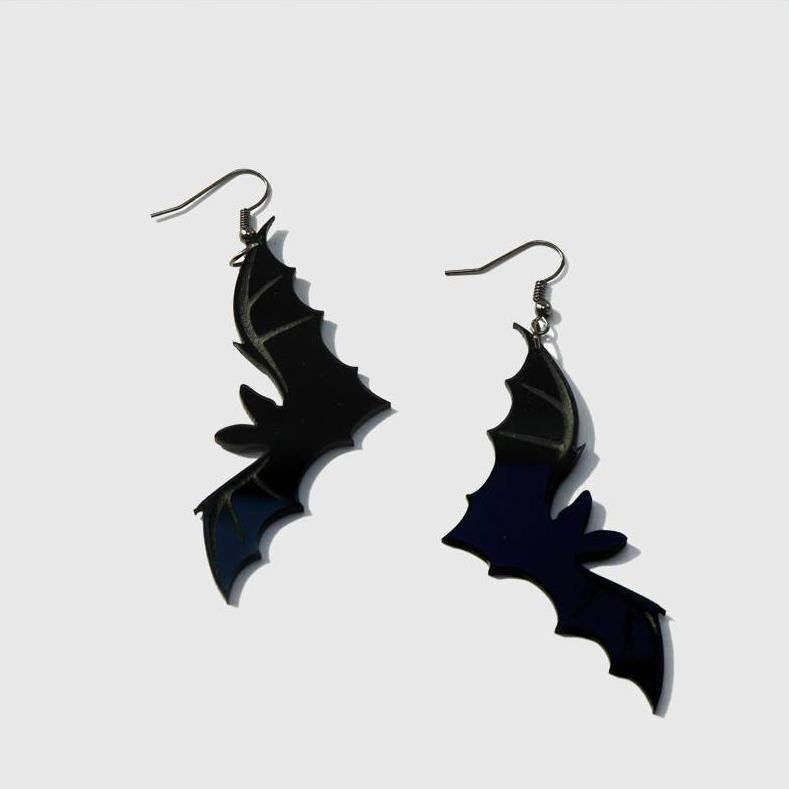 Flying Bats Earrings