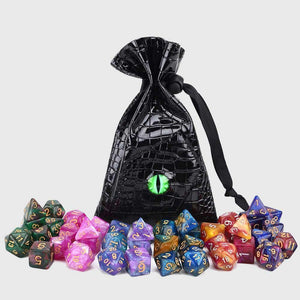 Dragon's Eye Drawstring Dice Bag