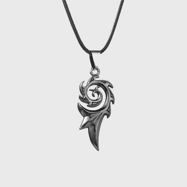 Cold Dragon Flame Necklace