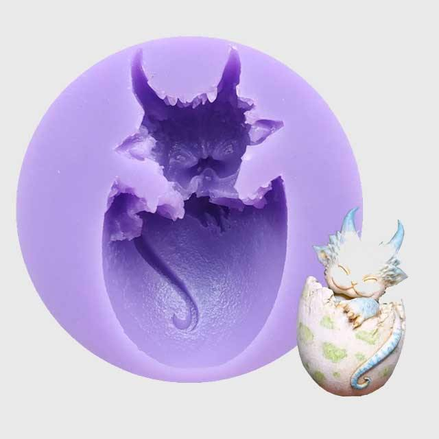 Baby Dragon Hatchling Baking Mold - Wyvern's Hoard