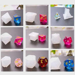 Polyhedral Dice Set Molds