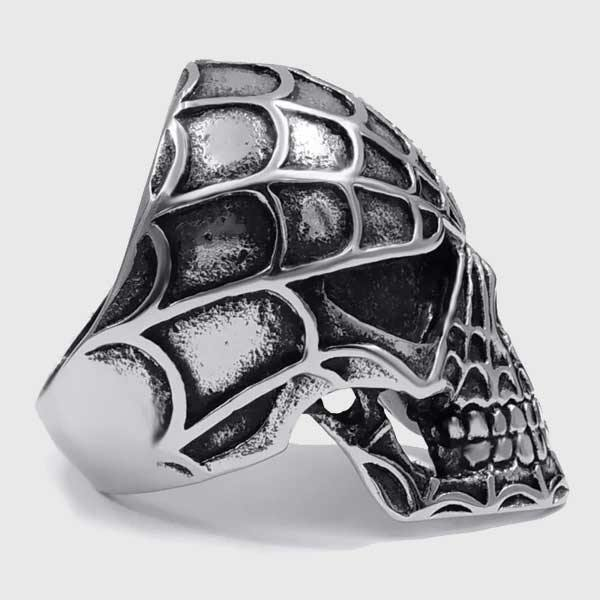 Spider Skull Ring - Wyvern's Hoard